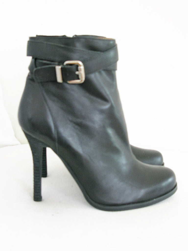 Jeffrey Campbell Ibiza Stiletto Ankle Boots 10 NWOB - ruby & sofia