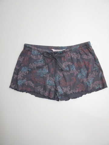 La Vie en Rose Floral Print Sleep Shorts S NWOT