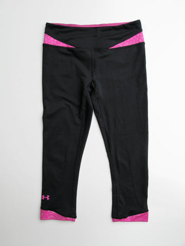 Under Armour Heat Gear Fitted Capri Workout Yoga Leggings XS/TP/XP  NWOT