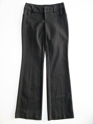 Vince Stretch Wool EZ Flare Trousers Pants 4
