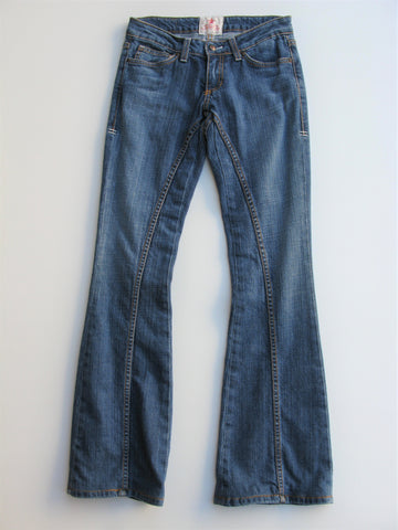 People's Liberation Bella Hippie Flare Jeans 25x32