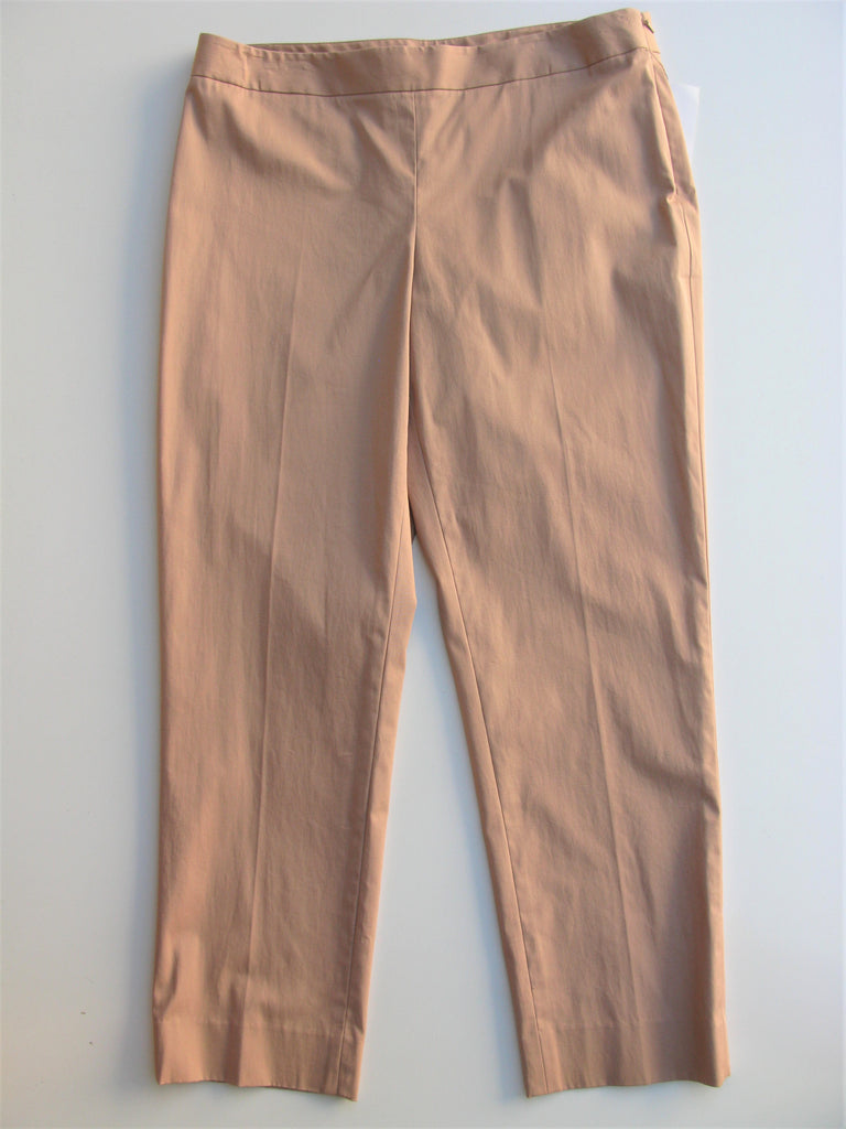DKNY Perry Skinny Fit Cropped Trousers Pants 12 NWT