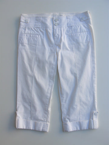 7 For All Mankind Cropped Cuffed Pants / Long Shorts 29
