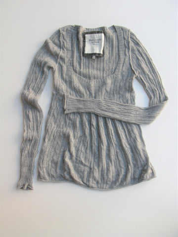 Abercrombie & Fitch Super Soft Babydoll Long Sleeve Sweater L