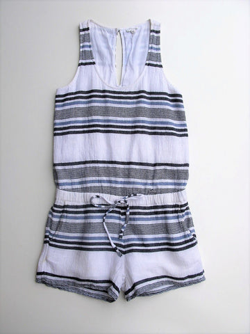 Romper Shorts SOFT JOIE Miri Cotton Gauze Striped Romper XS