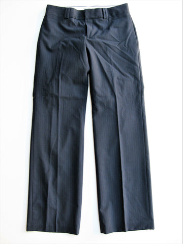 Banana Republic 'The Logan Fit' Navy Pinstripe Stretch Wool Trousers 2P