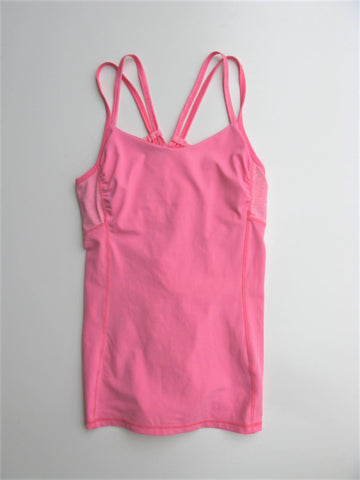 Yoga Top Workout Long Tank KYODAN Strappy Zumba Workout Top P/S