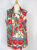 Vest Tunic Top MURAL Nordstrom Zipper Tunic Vest Top L