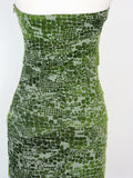 Bandeau Dress Cocktail Club Dress Nikibiki Burnout Knotted Strapless Dress NEW