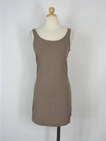 Tank Dress Bodycon H&M Basic Tank T Shirts Dress M