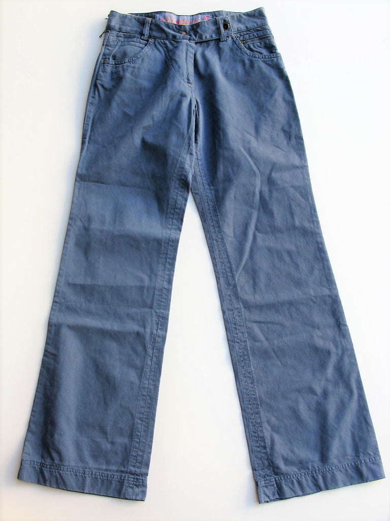 Wide Leg Pants Cotton Twill BILLBOARD Wide Leg Casual Pants 42 / 4
