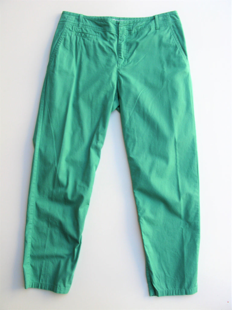 Comptoir Des Cotonniers Chino Chic Green Chinos S