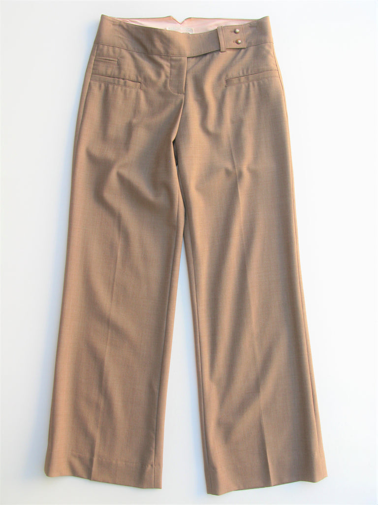 Jak & Rae Anthropologie Stretch Wool Trousers 2 NWOT