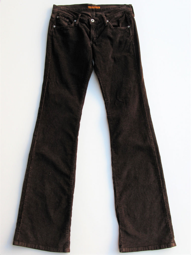James Cured By Seun Preserved Denim Boot Cut Stretch Corduroys 28x35