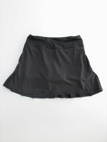 Running Skirt Tennis Skort Black LULULEMON Run Pace Setter Pleated Skirt 2