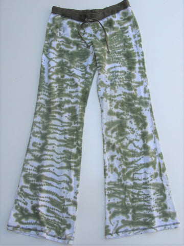 Wide Leg Flare Lounge Pants MISS ME Tie Dye Camouflage Pants