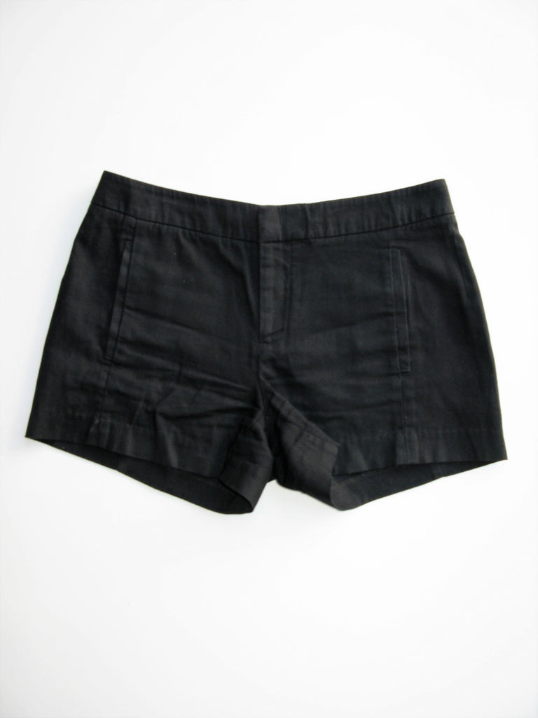Gap Black Cotton Canvas Shorts 2