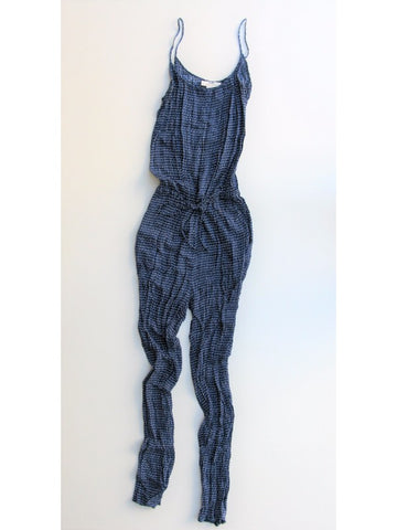 H&M Jersey Printed Spaghetti Strap Jumpsuit S