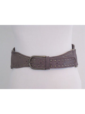 Twelfth Street by Cynthia Vincent Studded Leather Cinch Belt P