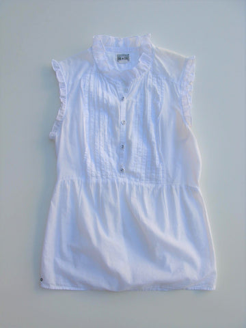 Sleeveless Ruffled Tunic Top Converse One Star Cotton Tuxedo Front Top S