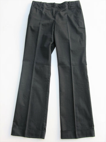 Wide Leg Cuffed Trouser Pants THE LIMITED Cassidy Fit Pants 4