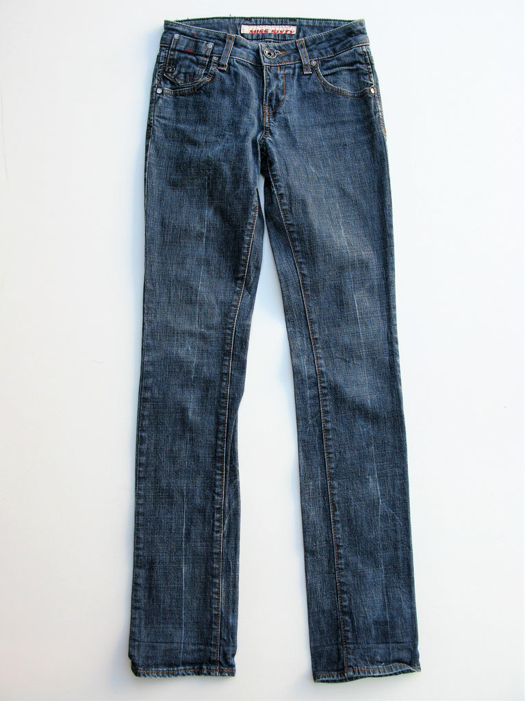 Miss Sixty Low Rise Made in Italy Slim Skinny Jeans 25