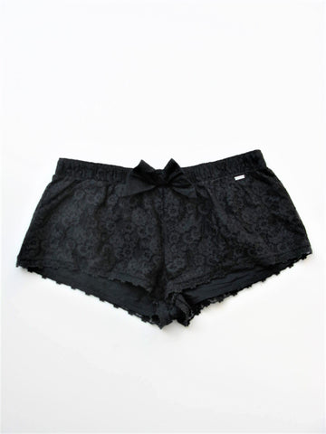 Lace Shorts Gilly Hicks Black Lace Sleep Shorts S