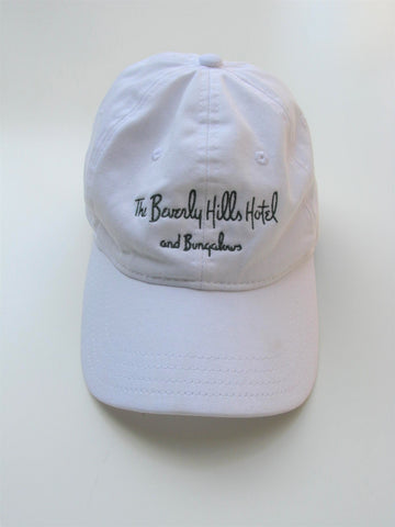 Beverly Hills Hotel & Bungalows Soft Baseball Cap Curved Bill OS