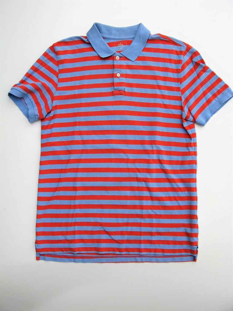 Gap Striped the Modern Pique Polo Shirt M