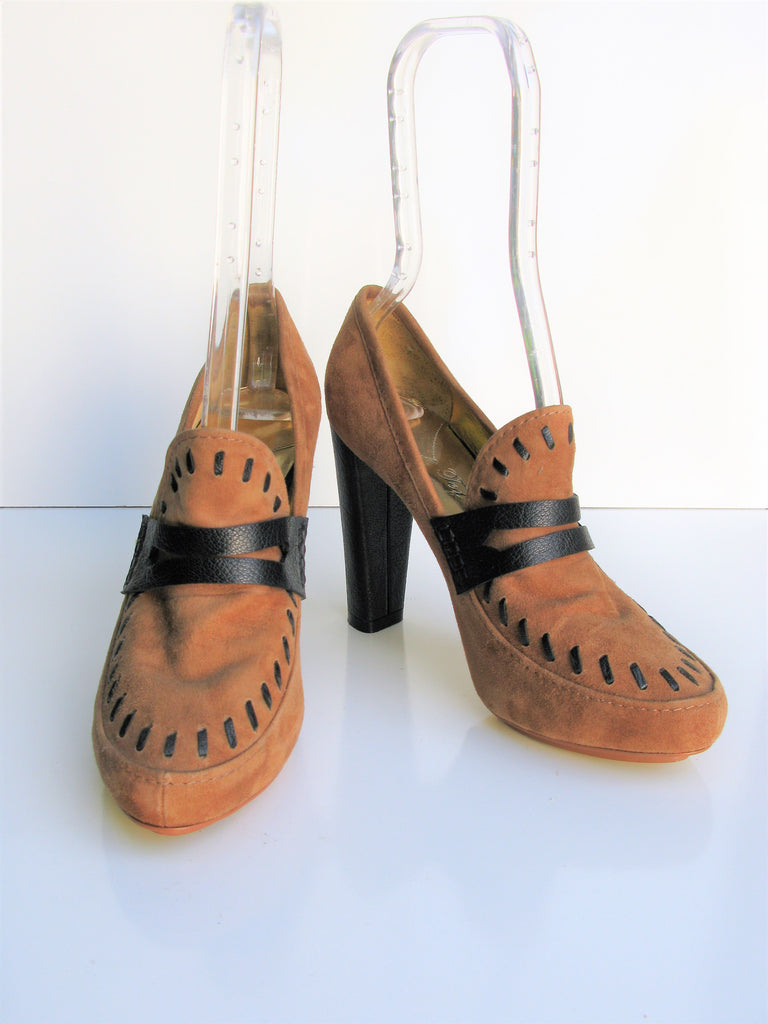 Ted Baker Of London Platform Loafer Moccasin Pump 6.5