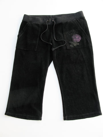 Juicy Couture Terry Velour Lounge Crops Capri Pants S/P