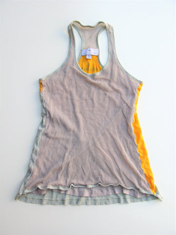 Adidas x Stella McCartney Layered Mesh Racer-back Tank Top XS