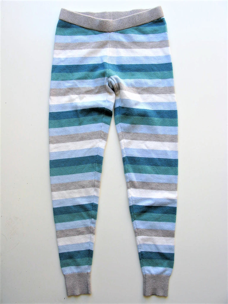 Leggings Sleepwear Lounge Wear Isaac Mizrahi Stripped Knit Leggings XS