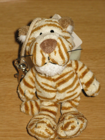 Nici Wild Friends 12cm Dangling Clip-on Tiger - Rare