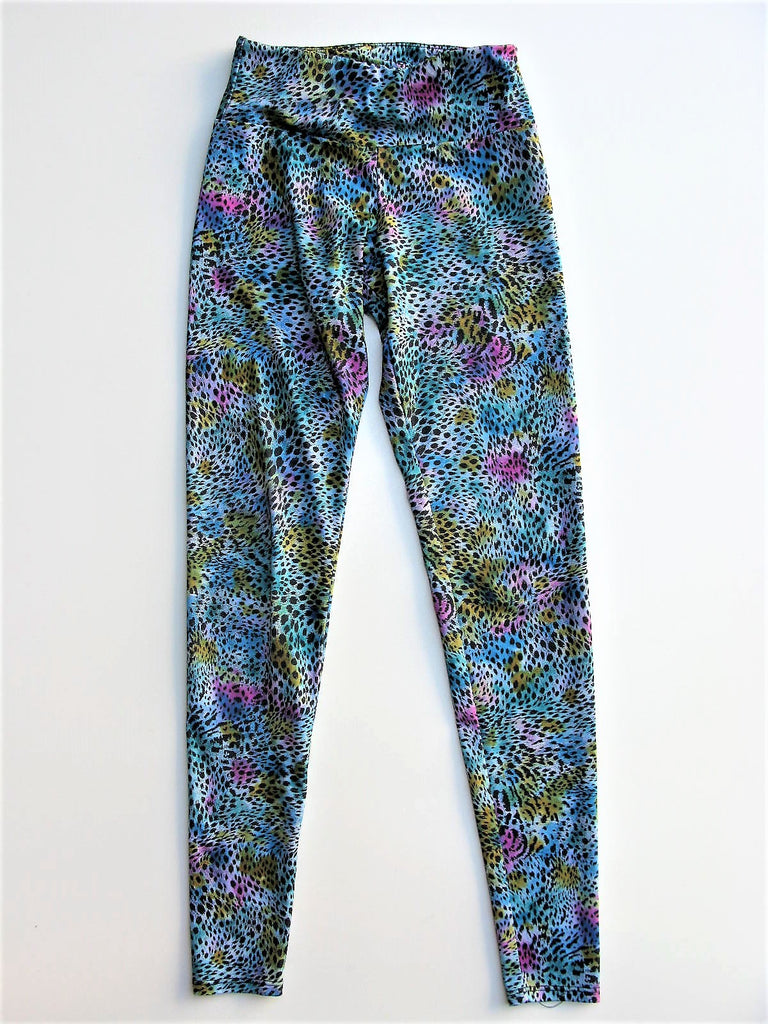 Yoga Pants Leggings Onzie Colorful Animal Print Leggings XS