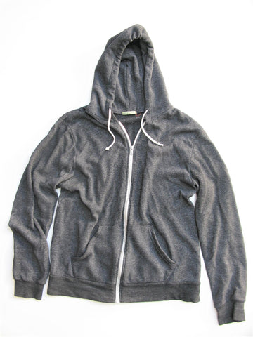 Alternative Men's Eco-Jersey Zip Hoodie L