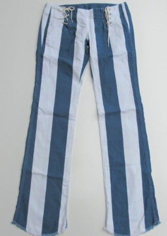 Diesel Football Lace Striped Pants/Jeans 29