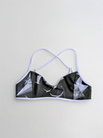 We Are Handsome FlexiCool Strappy Sports Bra S
