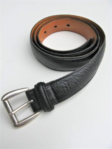 Polo Ralph Lauren Black Leather Belt 36