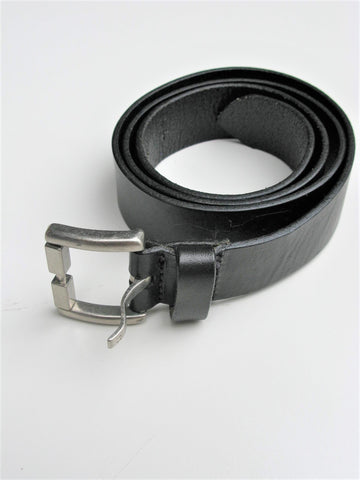 Calvin Klein Black Leather Belt 38