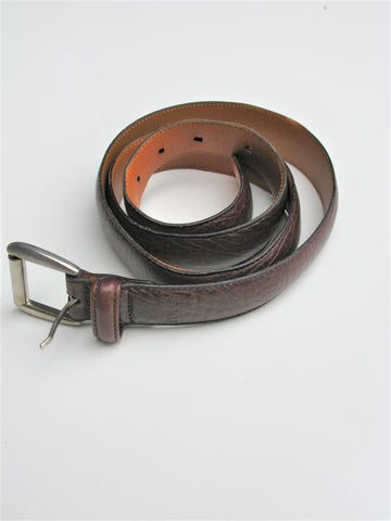 Polo Ralph Lauren  Brown Leather Belt 38
