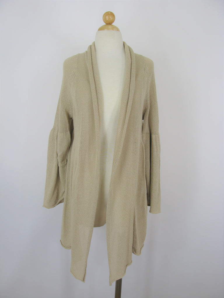 Max Studio Draped Cardigan Duster M