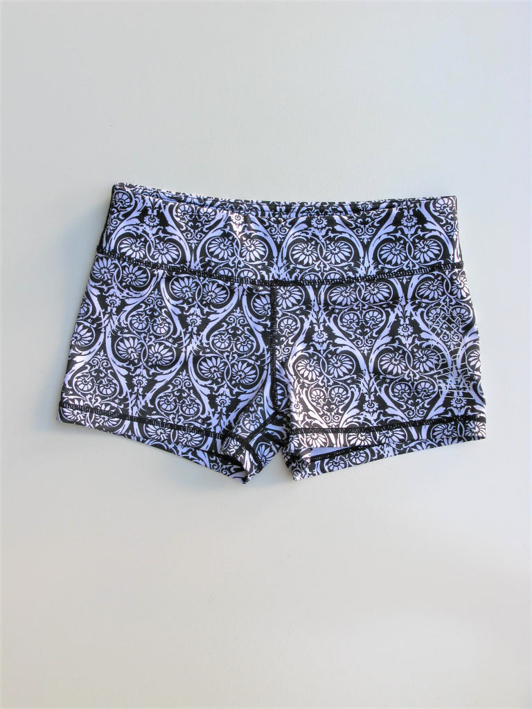 "IAB MFG Printed Yoga Shorts 2"" Shorts 8/M"