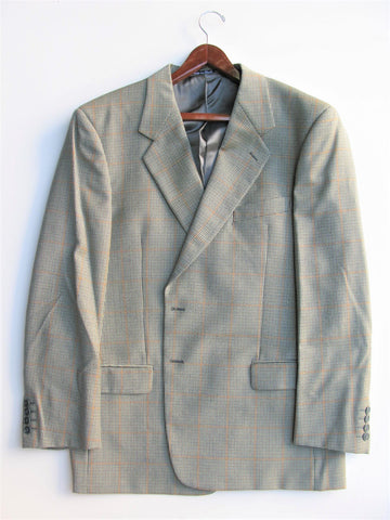 Sports Coat Houndstooth Made in Italy 100% Wool