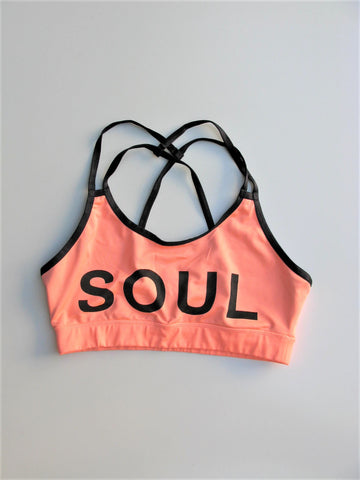 Soulcycle Strappy Sports Bra