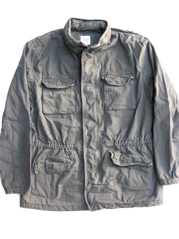 Gap Military Jacket with Hidden Hood NWT $128 msrp