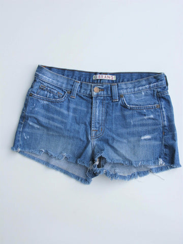 J BRAND Cutoff Denim Shorts Libra 27