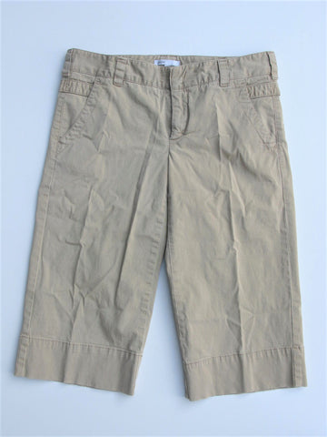 Vince Stretch Cotton Chino Wide Leg Long Shorts 4