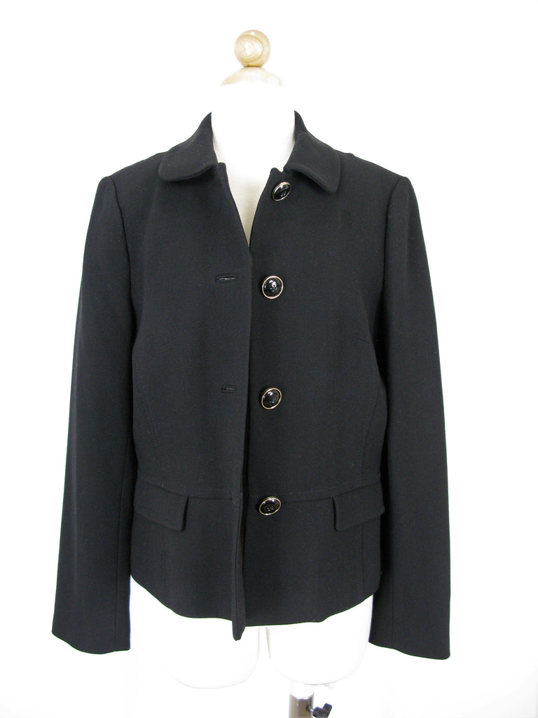 Banana Republic Classic Wool Crepe Jacket S