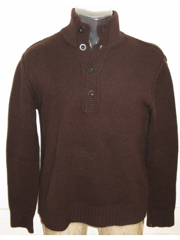 Banana Republic Lambswool Cashmere Sweater Mock Pullover M
